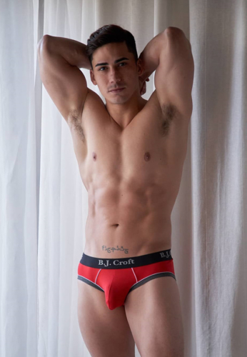 Topher DiMaggio red