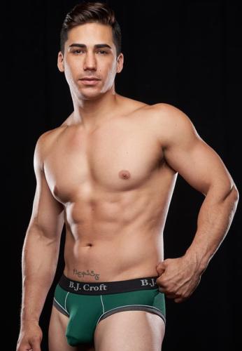 Topher DiMaggio underwear