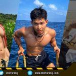 หนุ่มชงกาแฟงานดี Sippakorn Champhung โชว์กล้ามซิกแพคแน่นมัดใจแฟนคลับ